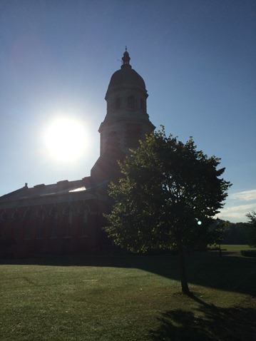 Netley Abbey August morning