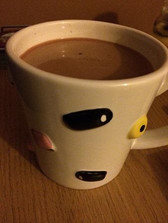 Popcorn hot chocolate