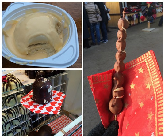 Berlin Christmas market food