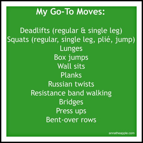 My Go To Moves