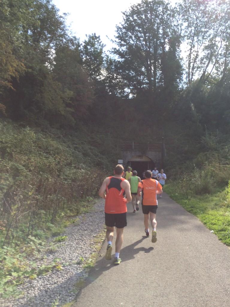 Bath Two Tunnels race